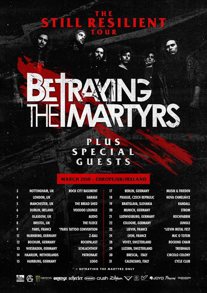Interview: Aaron Matts from Betraying The Martyrs! – Metal Noise
